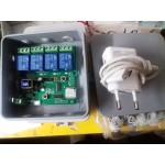 4 канален WIFI модул за управление на 4 броя електрически врати, с 5 годишна гаранция