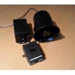 GSM модул и сирена с говор за охрана на автомобил