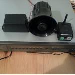 Система от GSM модул, видеорекордер и сирена с говор
