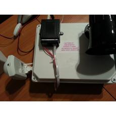 Говоряща сирена с GSM модул за охрана